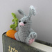 Hungry bunny bookmark pattern