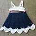 Little Miss Independence Dress pattern