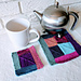 Yarn Tasting Teapot and Mug Rug pattern