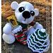 SA094 - Merry Little Christmas Bear pattern