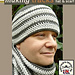 'Making Tracks' Men's Hat and Scarf Set pattern