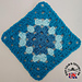 Tri-Tonal Traditional Granny Square pattern