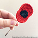 Poppy Brooch pattern