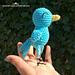 Bluebird of Happiness Amigurumi pattern