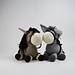 Dera-donkey Dougie and Dera-horse Hettie pattern