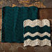 Wavy Chevron Crochet Dishcloth pattern