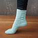 Pennants Socks pattern