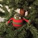 Round Christmas Monster pattern