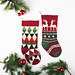 Triangle and Reindeer Stockings pattern