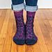 Helix Wiggles Socks pattern