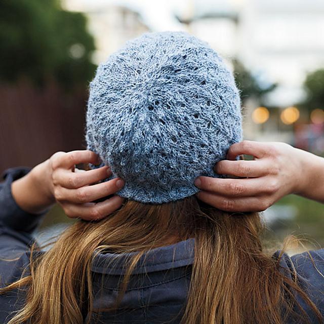 lace, hat, knit, pattern, luxury, blue, pattern, beanie