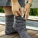 Rock on the Bridge Socks pattern
