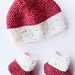 Strawberry Seed Baby Hat pattern