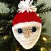Santa's Face Ornament pattern