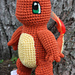 Charmander Doll pattern
