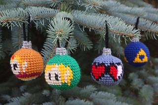 online store 0a133 a8446 Legend of Zelda Christmas Tree Ornaments pattern by Becca de Kroon