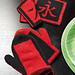 chinesische Grillhandschuhe pattern