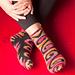 Socken: Inkastyle pattern