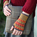 Bits and Pieces mitts pattern