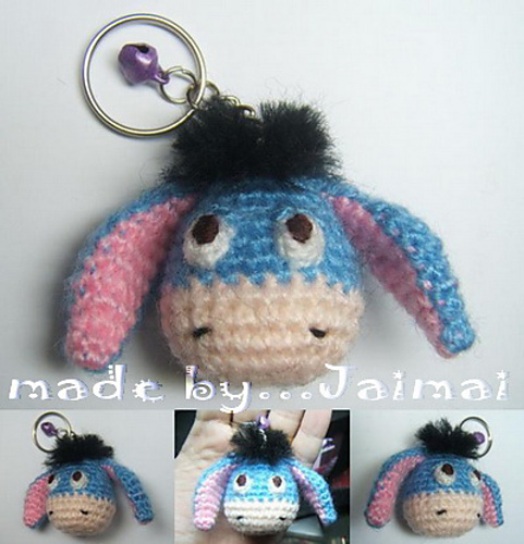 15 Free Must-Make Amigurumi Keychains for Bags, Purses, and Keys ... | 500x481