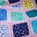 Flower Sea Blanket pattern