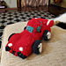 Knitted Sports Car Toy pattern