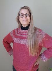Classroom Sweater design and pattern by Karen Vølund Fechter September 2020