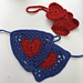 Valentine Bunting and Hearts pattern