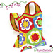 Kindertasche aus Granny Squares pattern