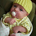 Isolde Newborn Hat pattern