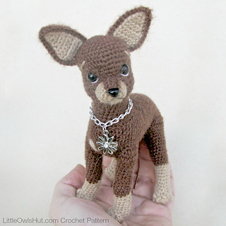 Amigurumi Plush Puppy Dog Toy Free Crochet Pattern (With images ... | 320x320