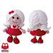 125 Doll in a Valentine outfit pattern
