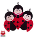 150 Ladybug decor or potholder pattern