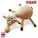 082 Dolly the sheep Amigurumi fluffy toy pattern