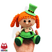 183 Girl Doll in a St Patrick Leprechaun outfit pattern