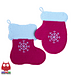 110 Stocking and Mitten decor or potholder pattern