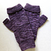 Ripple Wave Fingerless Mitts pattern
