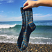 Ripple Wave Socks pattern