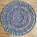 Paua Shell Mandala pattern