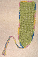 Bookmark: Green Variegated