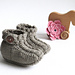 Baby Braided Ankle Booties pattern