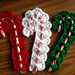 Victorian Candy Cane Cover pattern