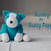 Hanley the Husky Puppy Amigurumi pattern