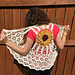 Sunflower crochet vest pattern