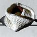Pearl stitch cowl pattern