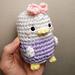 Daisy Duck Tsum Tsum pattern