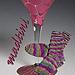 Mad-tini Socks pattern