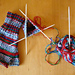Sandy's Wrist Warmers from Sock Yarn pattern