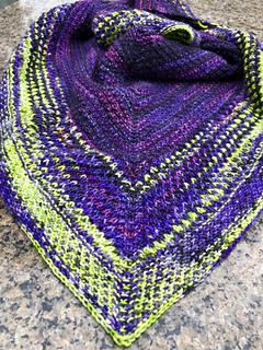 Evil Mistress shawl knitting pattern