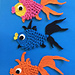 Fantail Goldfish pattern